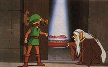 Zelda endormie