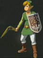 Breath of the Wild amiibo Rune Items (Hero of Wind Set) Hero of Wind Link (Menu Screen).png