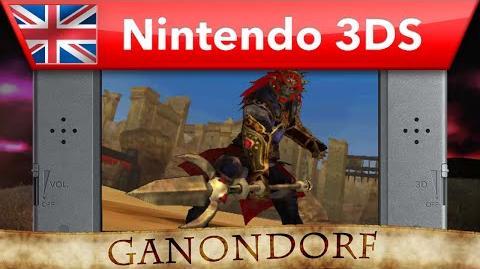 Hyrule Warriors Legends - Ganondorf Trident Gameplay (Nintendo 3DS)