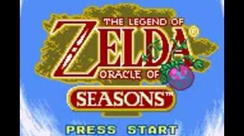 Legend of Zelda Oracle of Seasons (GBC) Intro