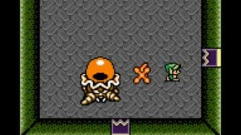 Zelda Link's Awakening DX - Boss extra Chromapion