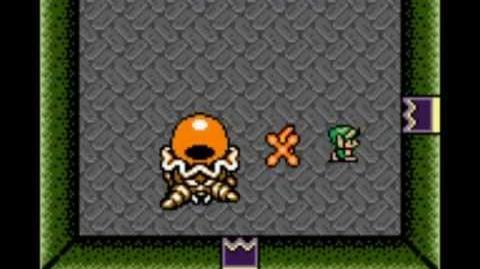 Zelda Link's Awakening DX - Boss extra Giant Hardhat Beetle