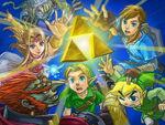 Artwork promotionnel The Legend of Zelda SSBU