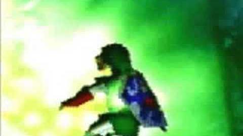 Zelda commercial for Ocarina Of Time