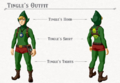 Breath of the Wild DLC Armor Tingle Armor Set (Tingle's Hood, Tingle's Shirt, & Tingle's Tights).png