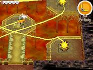 Link usando el Bumerán en PH
