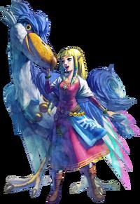Princess Zelda Artwork (Skyward Sword)