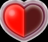 ALBW Corazón Lleno a la mitad