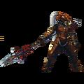 Hyrule Warriors Artwork Volga (Barba-Classic Volvagia Recolor - Master Quest DLC).png