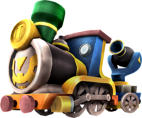 Hyrule Warriors Legends Spirit Train (Render)