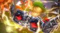 Link usando guantes de poder HW 5