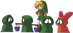 Link and Subrosians