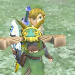 Link mentre usa il Maggiolino all'E3 2010 - demo