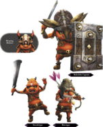 Hyrule Warriors Enemy Units Bokoblin (Render)