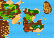 The Adventure of Link Overworld Map