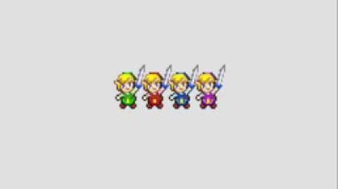 The Legend Of Zelda Four Swords Intro