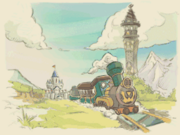 Spirit Tracks Credits Artwork 5