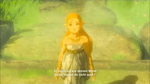 The Legend of Zelda Breath of the Wild - Das Master-Schwert Erinnerung Cutscene (Nr.18)