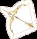 Arco de Zelda pegatina SSBB