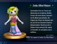 Zelda (The Wind Waker-Trophäe aus SSBB)