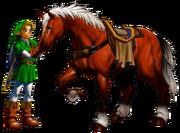 Link y Epona