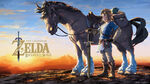 Link y Epona Artwork Wallpaper BotW