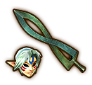 Hyrule Warriors Mask Fierce Deity's Mask (Level 1 Mask)