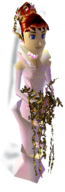 Majora's Mask Anju Wedding Dress (Render)