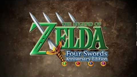 The Legend of Zelda Four Swords Anniversary Edition Trailer