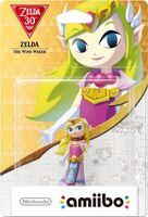 Embalaje europeo del amiibo de Zelda (The Wind Waker) - Subserie 30 aniversario