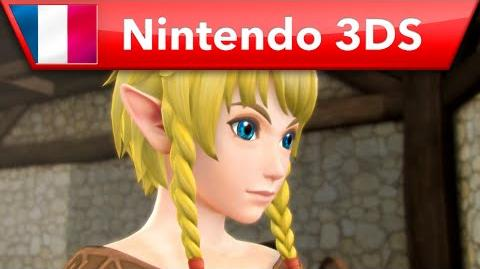 Hyrule Warriors Legends - Bande-annonce Linkle