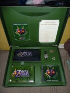 Interior del set de aventura The Legend of Zelda Majora's Mask