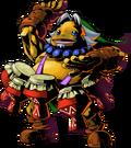Link Goron tambores MM3D