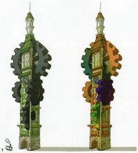Torre de los dioses concepto