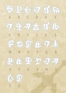 Alphabet Hylien SS