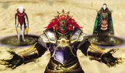 Ganondorf Xanto Ghirahim HW