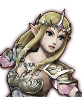 Hyrule Warriors Wizzro Fake Zelda (Dialog Box Portrait)