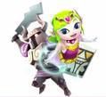 Zelda cartoon HWL