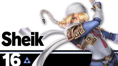 16 Sheik – Super Smash Bros