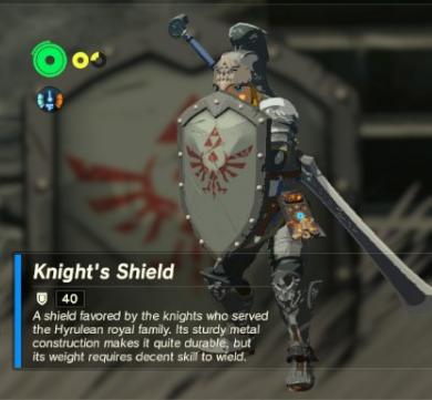 Knight's Shield | Zeldapedia | FANDOM powered by Wikia