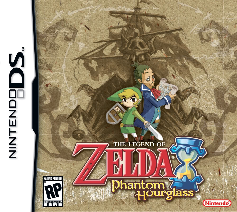 the legend of zelda phantom hourglass ds
