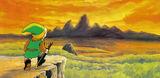 Artwork Montagne de la Mort Link LOZ