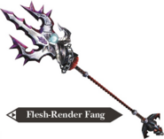 Hyrule Warriors Dragon Spear Flesh-Render Fang (Render)