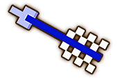 Hyrule Warriors Goddess Blade 8-Bit Silver Arrow (8-bit Goddess Blade)