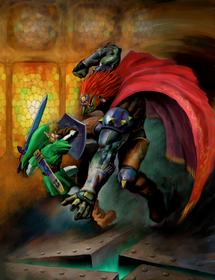 Link vs Ganondorf (Ocarina of Time)