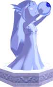The Wind Waker Golden Goddess Statues Nayru's Statue (Render)