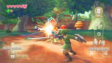 Link atacando una Baba Deku SS