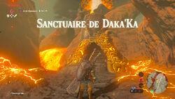 Sanctuaire de Daka'Ka BOTW