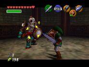 Stalfos en combate con Link