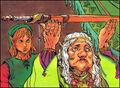 Link y Impa TLoZ